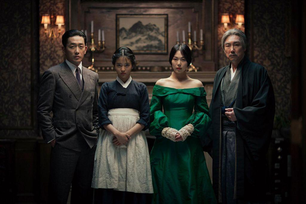 Kadr z filmu Służąca. Reż. Park Chan-wook