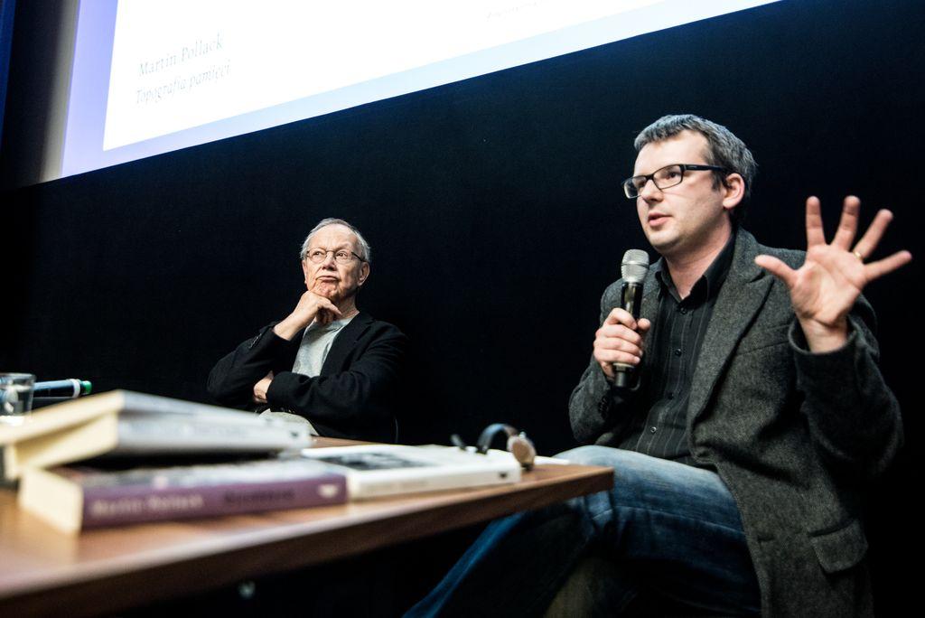 Martin Pollack w Zamku - ZamekCzyta.pl