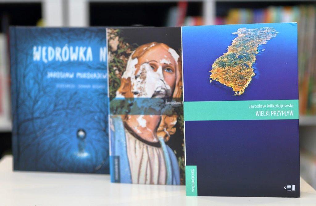 JarosŁaw Mikołajewski zamek czyta