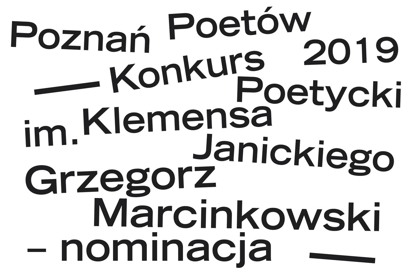 Pp 2019 Grzegorz Marcinkowski Nominacja Do Konkursu Im