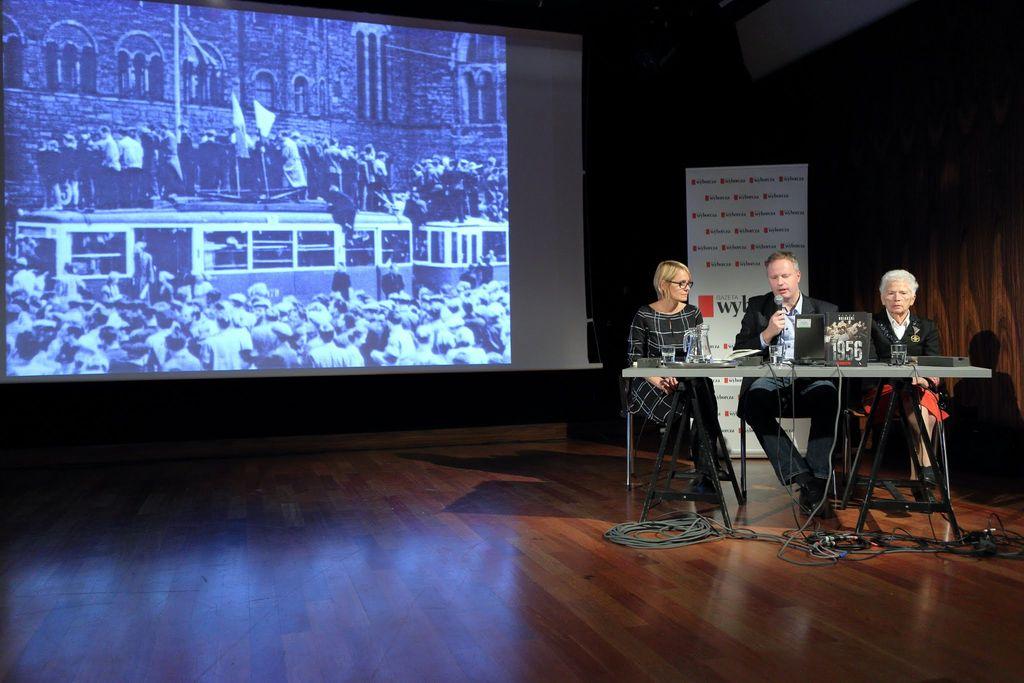 Piotr Bojarski: 1956. Przebudzeni Fot. M. Kaczyński © CK ZAMEK