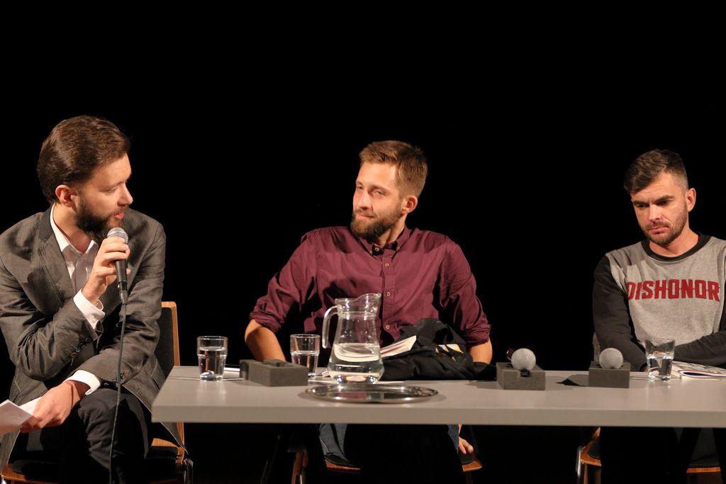 Seryjni Poeci: Maciej Robert i Jakub Kornhauser. Fot. M. Kaczyński © CK ZAMEK