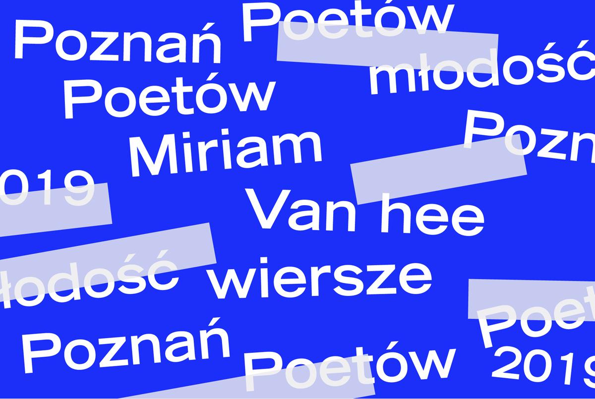 PP 2019: Miriam Van hee - wiersze - ZamekCzyta.pl